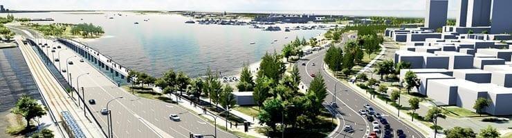Main Beach Roading upgrades