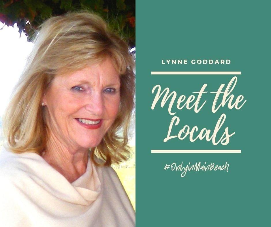 Lyn Goddard Main Beach resident