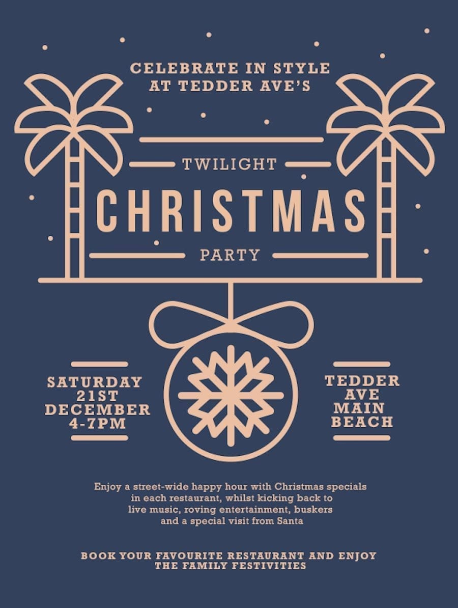 Celebrate in Style at Tedder's Twilight Christmas Party